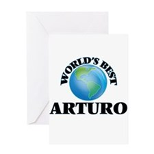 World's Best Arturo Greeting Cards