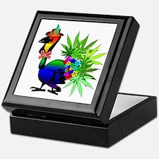 Rainbow Marijuana Thanksgiving Turkey Keepsake Box