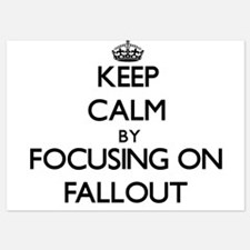 Keep Calm by focusing on Fallout Invitations