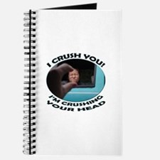 Kids In The Hall - I'm Crushing Your Head Journal