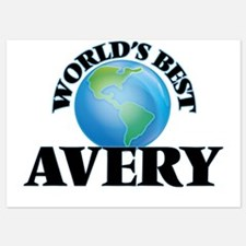 World's Best Avery Invitations