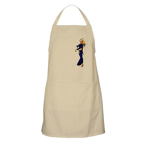 Pinup Sailor Tattoo Art BBQ Apron