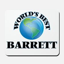 World's Best Barrett Mousepad