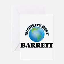 World's Best Barrett Greeting Cards