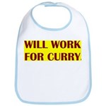 will work for curry Bib