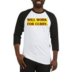 will work for curry Baseball Jersey