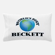 World's Best Beckett Pillow Case