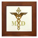 Masonic Medical Doctors Framed Tile