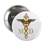 Masonic Medical Doctors Button