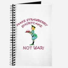 Make Shortcake Not War Journal