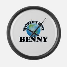 World's Best Benny Large Wall Clock
