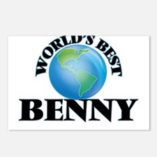 World's Best Benny Postcards (Package of 8)