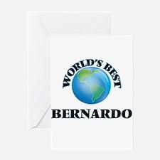 World's Best Bernardo Greeting Cards