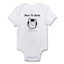 Born To Rock Infant Bodysuit