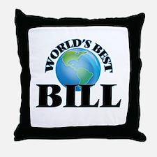World's Best Bill Throw Pillow