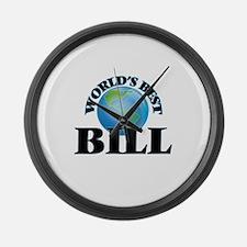 World's Best Bill Large Wall Clock