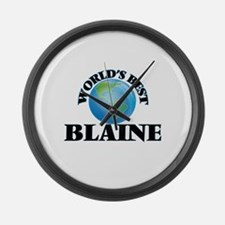 World's Best Blaine Large Wall Clock