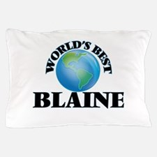 World's Best Blaine Pillow Case