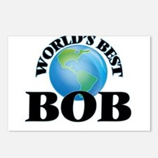 World's Best Bob Postcards (Package of 8)