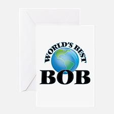 World's Best Bob Greeting Cards