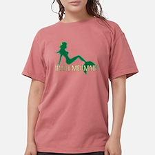 Irish Mermaid Black T-Shirt