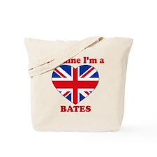 Bates, Valentine's Day Tote Bag