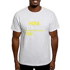 Unique Mba T-Shirt