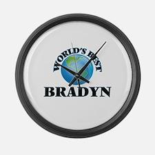 World's Best Bradyn Large Wall Clock
