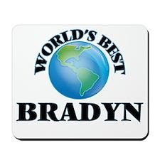 World's Best Bradyn Mousepad