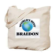 World's Best Braedon Tote Bag