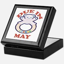 Due In May Keepsake Box