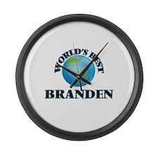 World's Best Branden Large Wall Clock