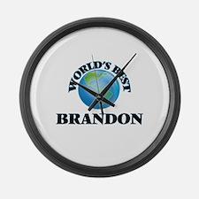 World's Best Brandon Large Wall Clock