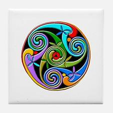 Celtic Circle 2 Tile Coaster