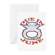 Due In June Greeting Cards (Pk of 10)