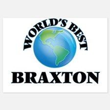 World's Best Braxton Invitations