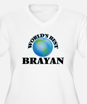 World's Best Brayan Plus Size T-Shirt