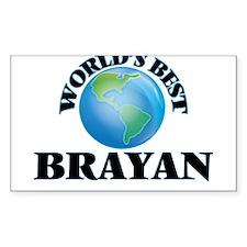 World's Best Brayan Decal