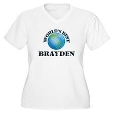 World's Best Brayden Plus Size T-Shirt