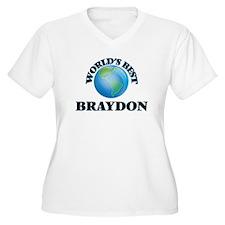 World's Best Braydon Plus Size T-Shirt