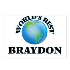 World's Best Braydon Postcards (Package of 8)