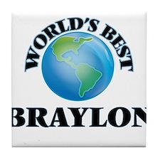 World's Best Braylon Tile Coaster