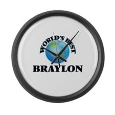 World's Best Braylon Large Wall Clock