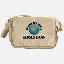 World's Best Braylon Messenger Bag
