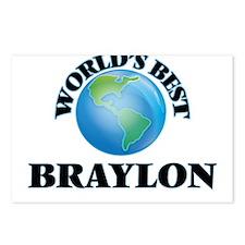 World's Best Braylon Postcards (Package of 8)