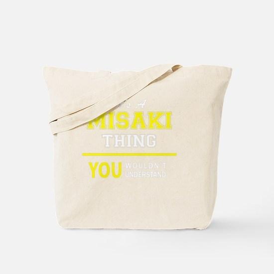 Cute Misaki Tote Bag