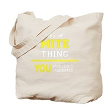 Funny Mite Tote Bag