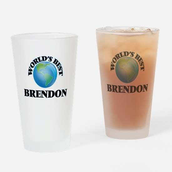 World's Best Brendon Drinking Glass