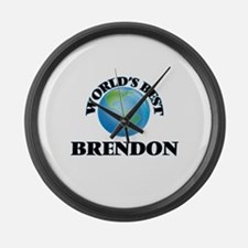 World's Best Brendon Large Wall Clock