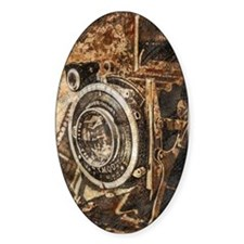 Antique Old Photo Camera Decal